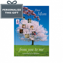 Memory Book for Mom Tree cover from you to me
