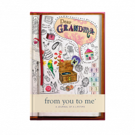 Memory Book for Grandma Sketch cover from you to me