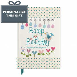 Bump to Birthday pregnancy and 1st Year journal by from you to me
