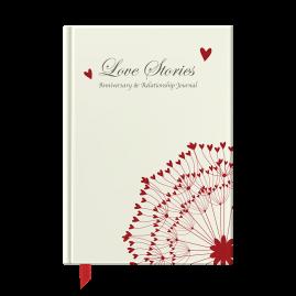 Love Stories hardback anniversary & relationship journal