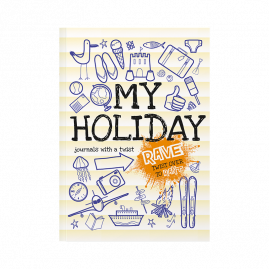 Rant & Rave about My Holiday softback children's activity journal about holiday cover by from you to me