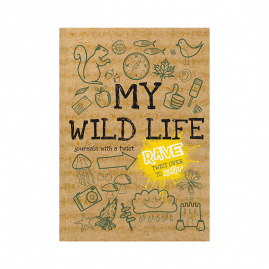 softback children's activity journal my wild life cover by from you to me