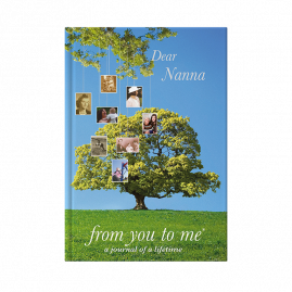 Dear Nanna Tree journal by from you to me