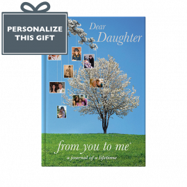 Memory Book for Daughter Tree by from you to me
