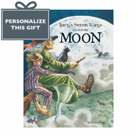 Personalized Seven Ways To Catch The Moon poetical picture book by M.P.Robertson *printed especially for you*