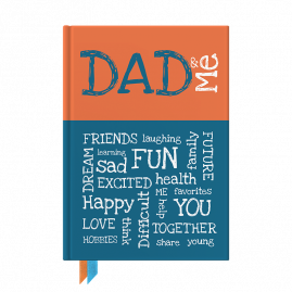 Dad & Me interactive journal by from you to me