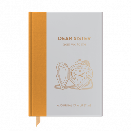 NEW Timeless Collection Dear Sister hardback memory journal