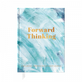 Forward Thinking, A Wellbeing and Happiness Journal by from you to me