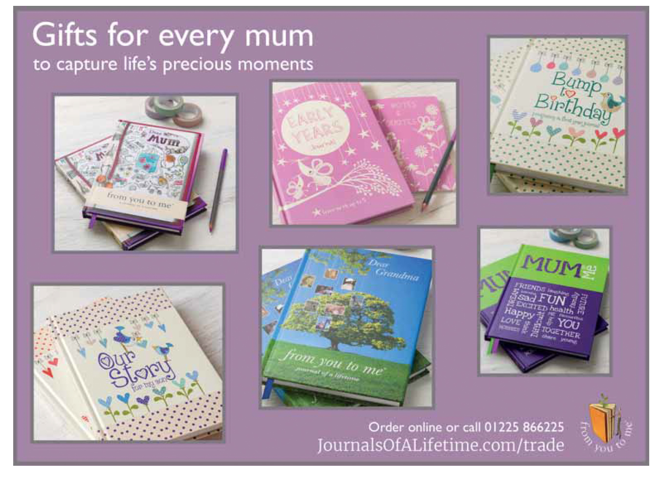Mother's Day range ad in Gift Focus